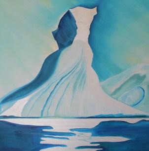 Iconic Iceberg Amundsen Sea Antarctica 36x36