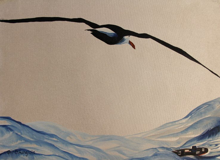 Weathering the Storm Southern Ocean Antarctica 18x24