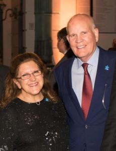 Diane Mermigras with Bob Wright Photos by CAPEHART