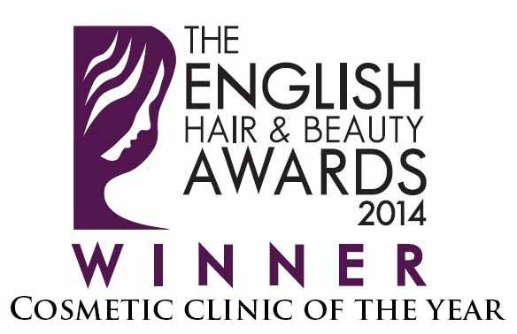 cosmetic clinic of the eyar winner logo TWITTER