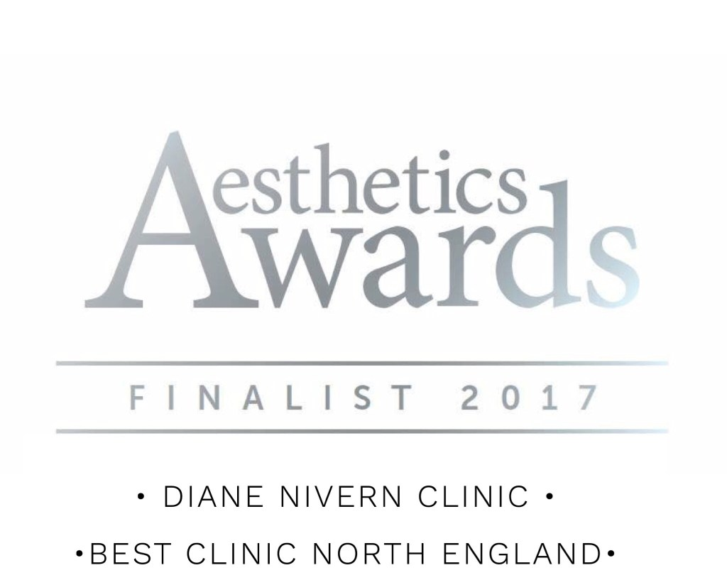 aesthetic awards finalist 2017 diane nivern clinic
