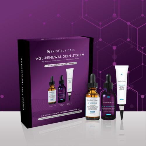 SkinCeuticals AGE RENEWAL SKIN SYSTEM