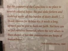 Capuchin museum.
