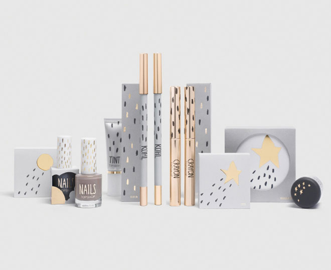 Top Shop Make Up and Cosmetics Packaging Inspiration