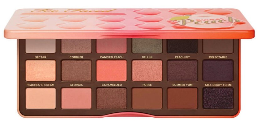 Too Faced Sweet Peach Eyeshadow Collection $70.00