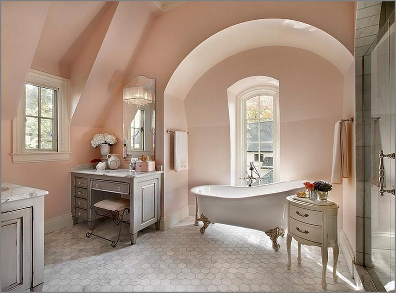 Serene and Feminine Clean Bathroom Designs