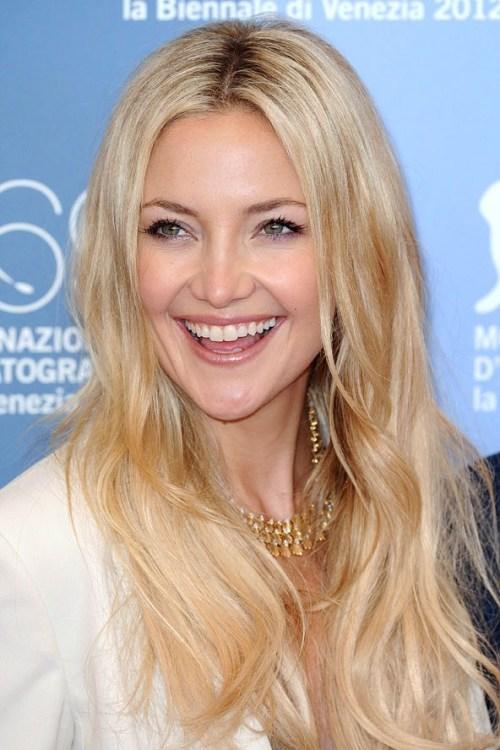 Kate Hudson's Long Wavy Blonde Hair