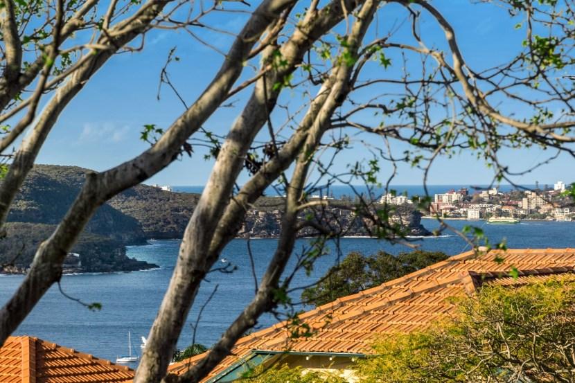 Mosman Property 6 Redan St - Harbour Glimpses