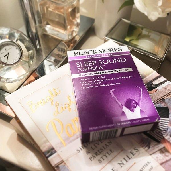 blackmores sleep sound supplement instagram post