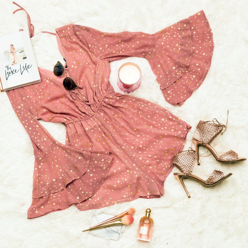 Playsuit flat lay also for Hello Molly