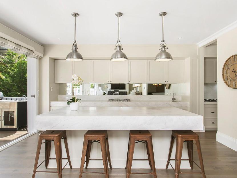 Dream Hamptons Style Home in Mosman - Stunning chef's kitchen