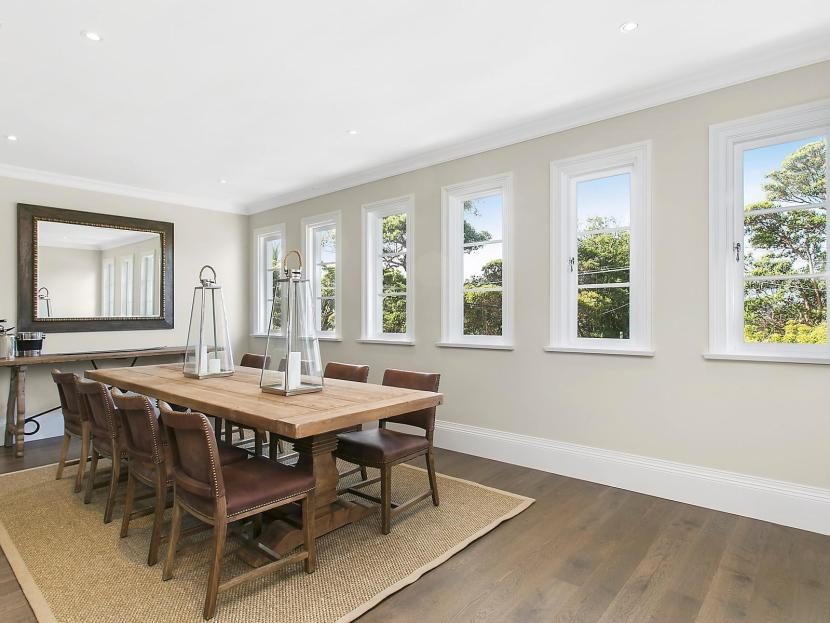 Dream Hamptons Style Home in Mosman - Dining area