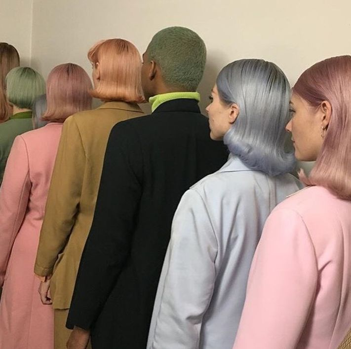Moody Girls Temporary Pastel Hair Colours - All Shades