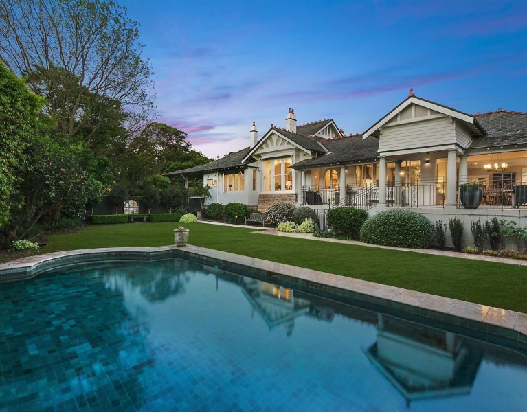 Is this your new dream home: Grand Federation Home in Mosman