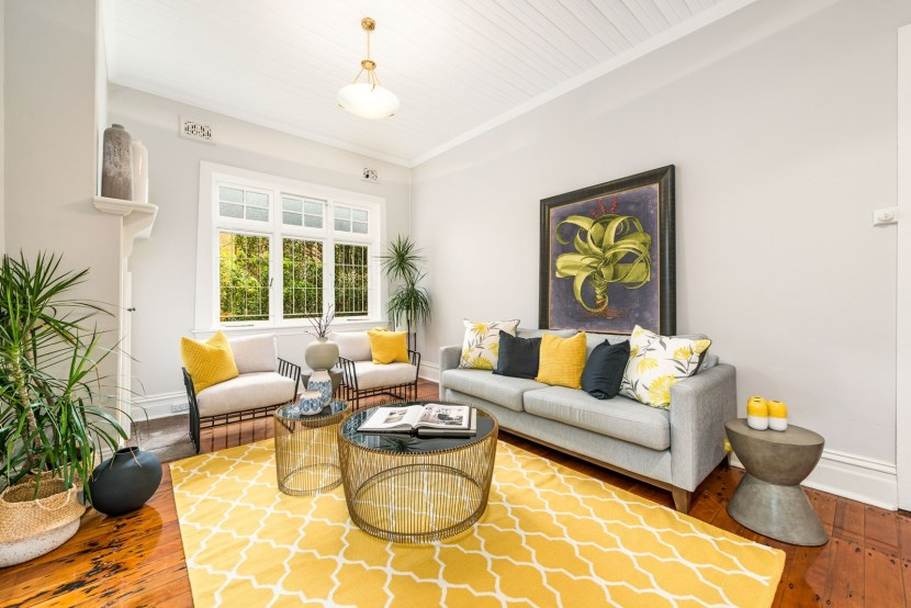 high ceilings and period features make this federation family home sought after