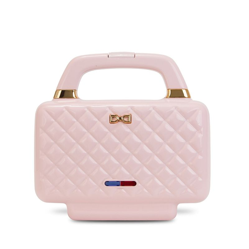 Dash Couture Sandwich Maker in Pink