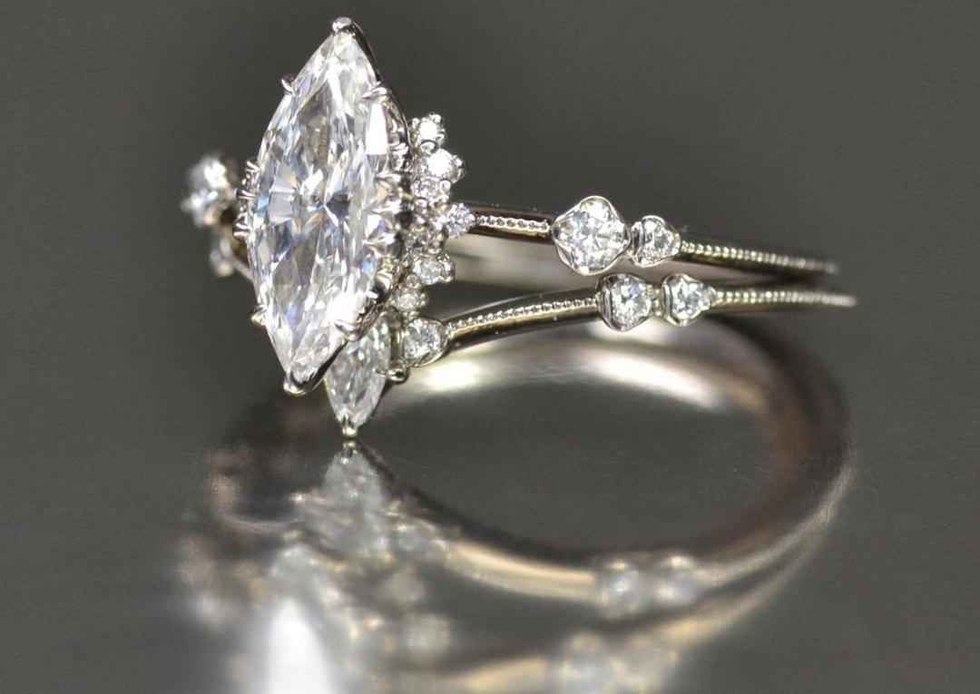 rose gold engagement rings   Tumblr   Unique Engagement Rings Tumblr
