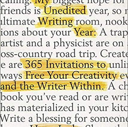 My Unedited Writing Year
