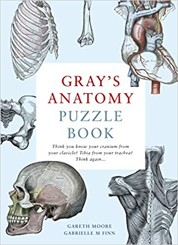 Gray s Anatomy Puzzle Book