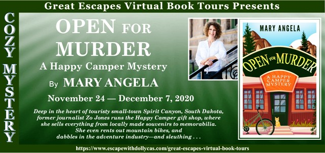 Open for Murder Review and Giveaway