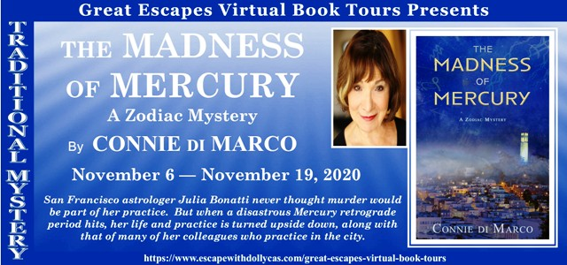 The Madness of Mercury Guest Post and Giveaway