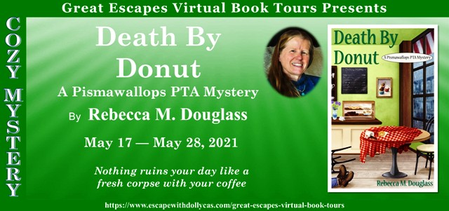 Death By Donut Spotlight and Giveaway