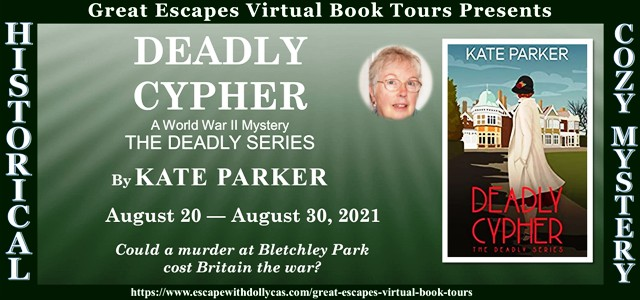 A Deadly Cipher Guest Post and Giveaway