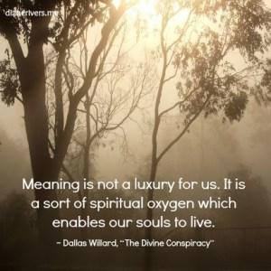 Spiritual Oxygen pin