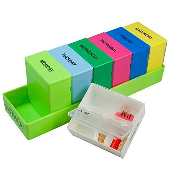 Diane's Favorites   Supplements   Borin-Halbich The 7 Day Pill Organizer