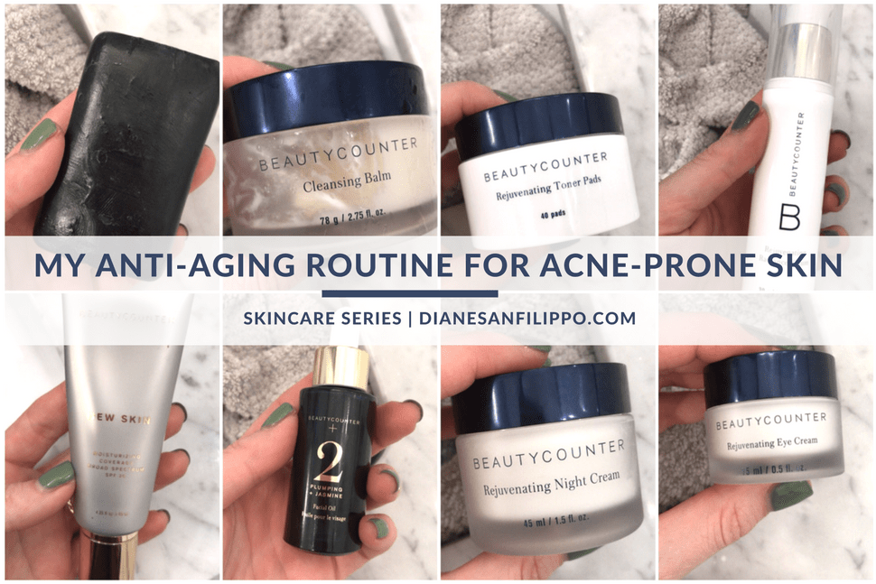 Safer Skincare for Anti-Aging and Acne-Prone Skin | Diane Sanfilippo