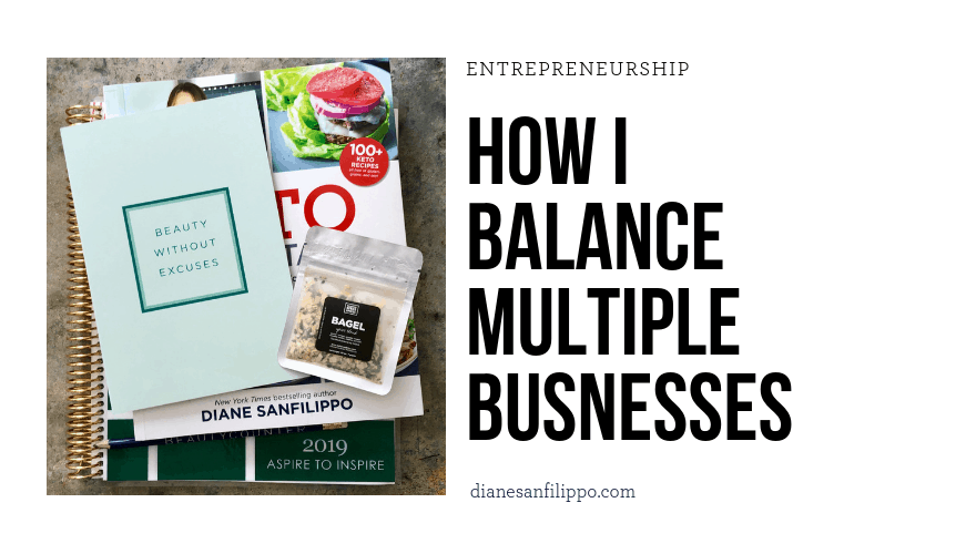 How I balance multiple businesses | Diane Sanfilippo