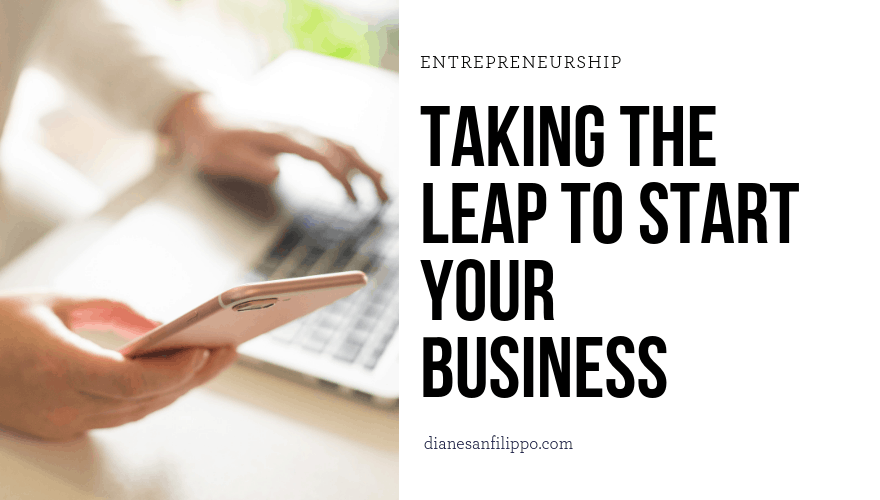 Taking the Leap to Start Your Business | Diane Sanfilippo