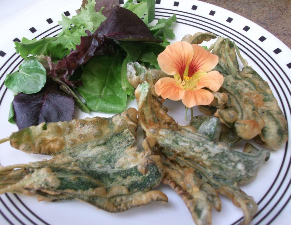 Sage Fritters Fried Sage Leaves  Dianes Food Blog
