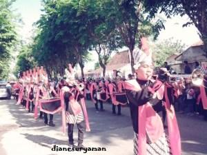 Peserta Festival Bunga