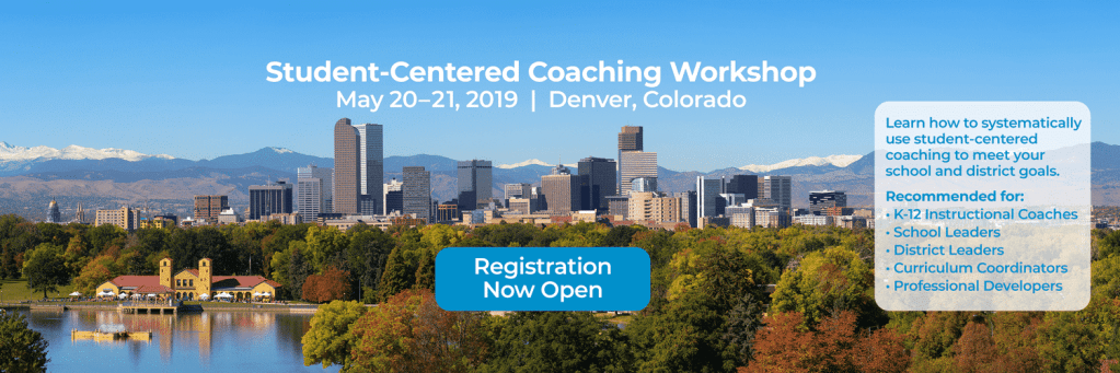 Student-Centered Coaching Workshop