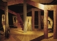 Installation Fantasmagorie de Diane T. Tremblay