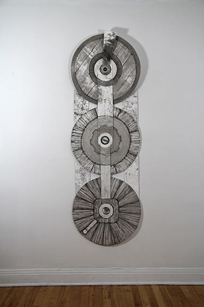 Rouage - Exposition Tissage et mécanisme