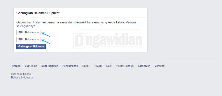 Cara Gabung Dua Halaman Facebook Jadi Satu