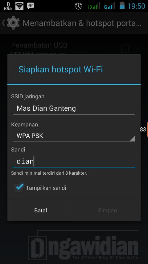 Cara Membuat WiFi di Android 3