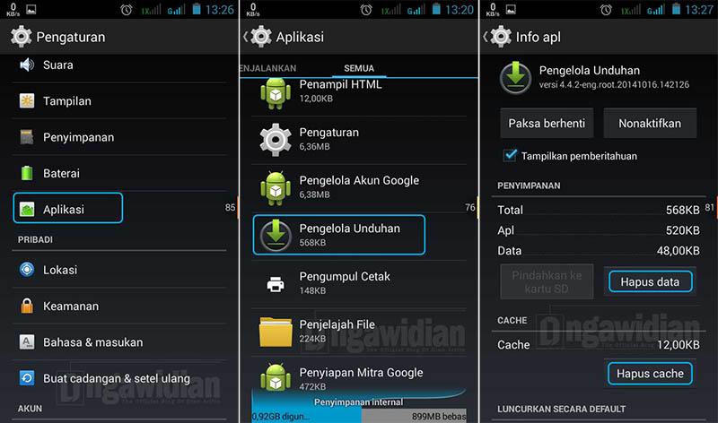 Menghentikan Proses Download Di Android