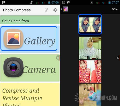 Mengecilkan Ukuran Gambar Dengan Photo Compress