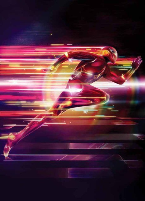 Membuat Efek Sinar Super Hero Photoshop 10