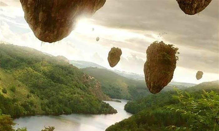 Membuat Pulau Melayang di Photoshop 19