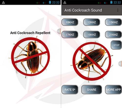 Mengusir Kecoa Dengan HP Android
