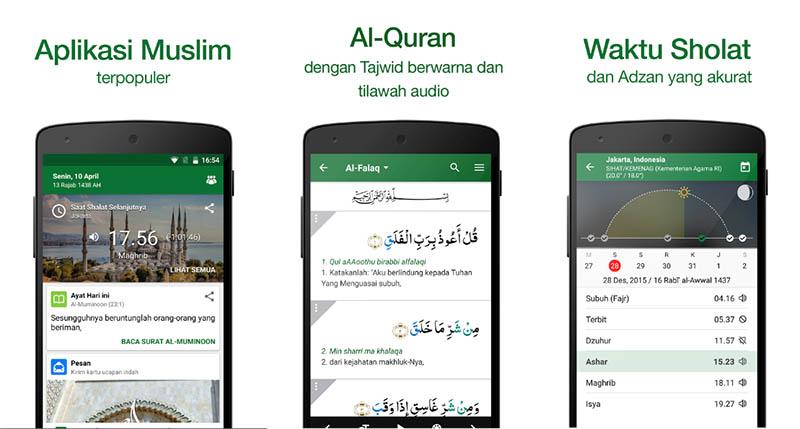 Muslim Pro Waktu Sholat Quran