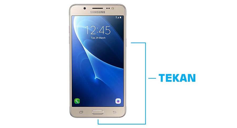Cara Mengambil Layar Samsung Galaxy J5