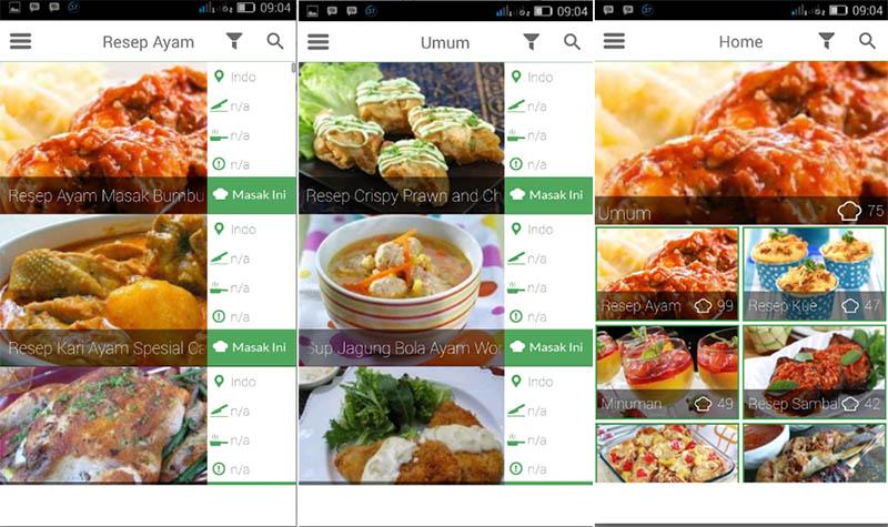 Buku Resep Masakan Indonesia
