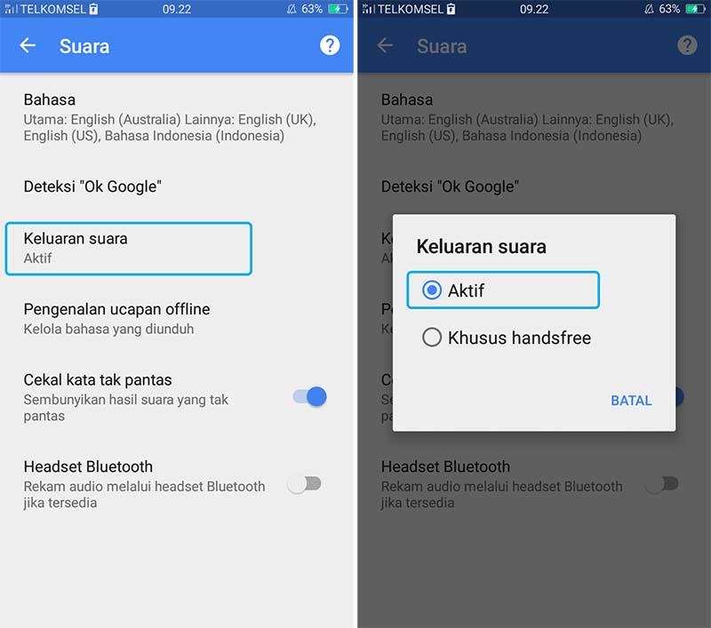Cara Aktifkan Suara Ok Google di Android 2