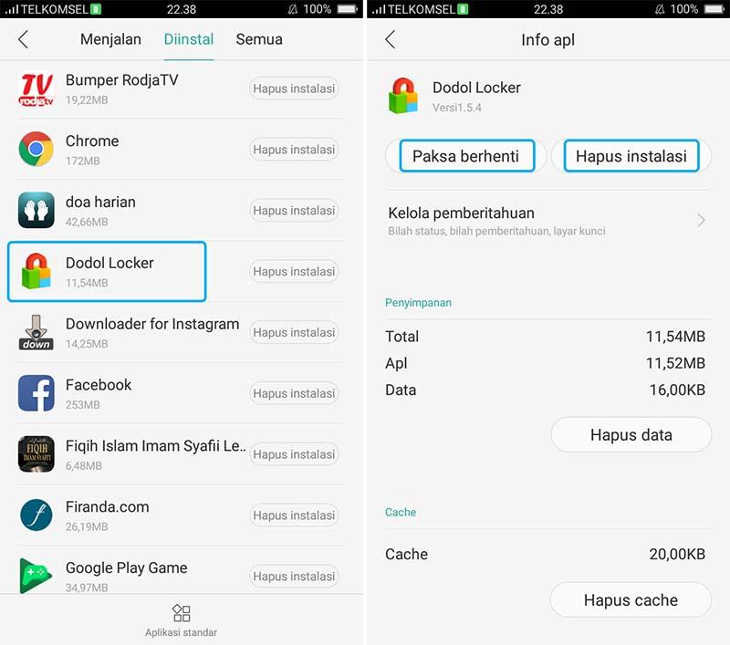 cara mengatasi tidak ada izin untuk menghapus di android
