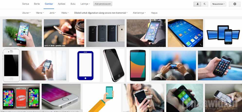 Cara Cari Gambar Legal Di Google 4